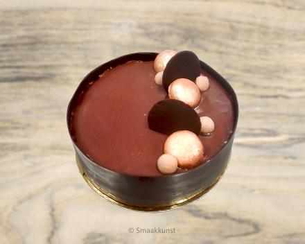De caramba uit het assortiment standaard taarten van Smaakkunst Roeselare