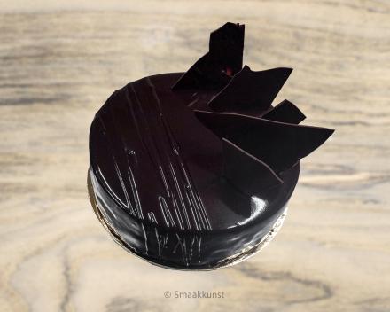 De chocoholic uit het assortiment standaard taarten van Smaakkunst Roeselare