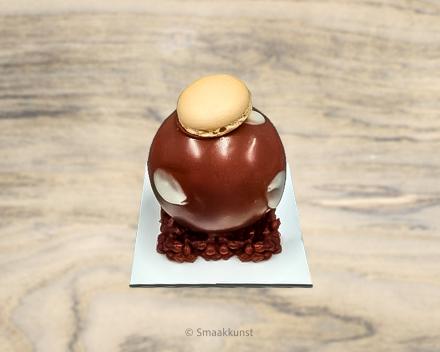 De duo als individueel gebak, uit het assortiment standaard taarten van Smaakkunst Roeselare