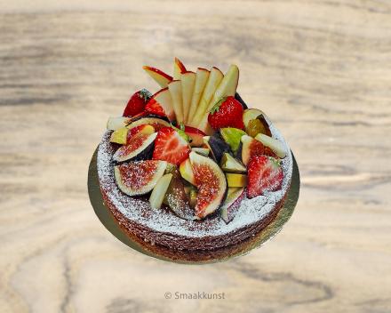 De fruittaart uit het assortiment standaard taarten van Smaakkunst Roeselare