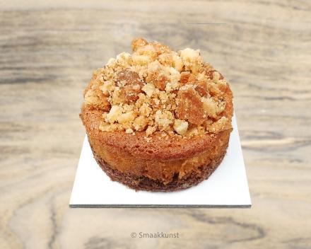 De pomme rustique uit het assortiment standaard taarten van Smaakkunst Roeselare