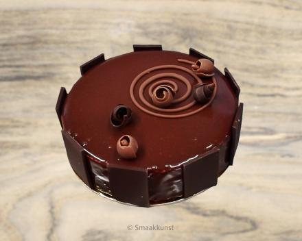 De samba uit het assortiment standaard taarten van Smaakkunst Roeselare
