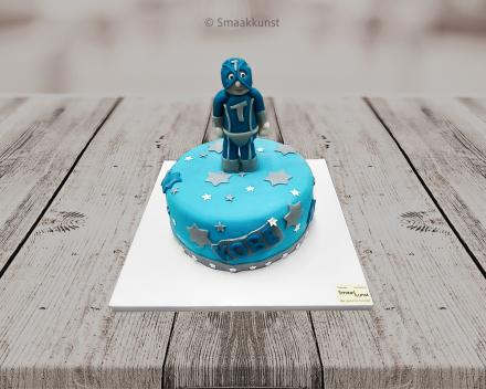 Mega-Toby taart als themagebak door patisserie en chocolaterie Smaakkunst te Roeselare