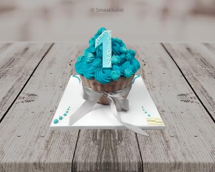 Smashcake als themagebak door patisserie en chocolaterie Smaakkunst te Roeselare