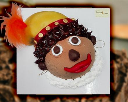 Zwarte piet uit het assortiment seizoenschocolade van Smaakkunst te Roeselare